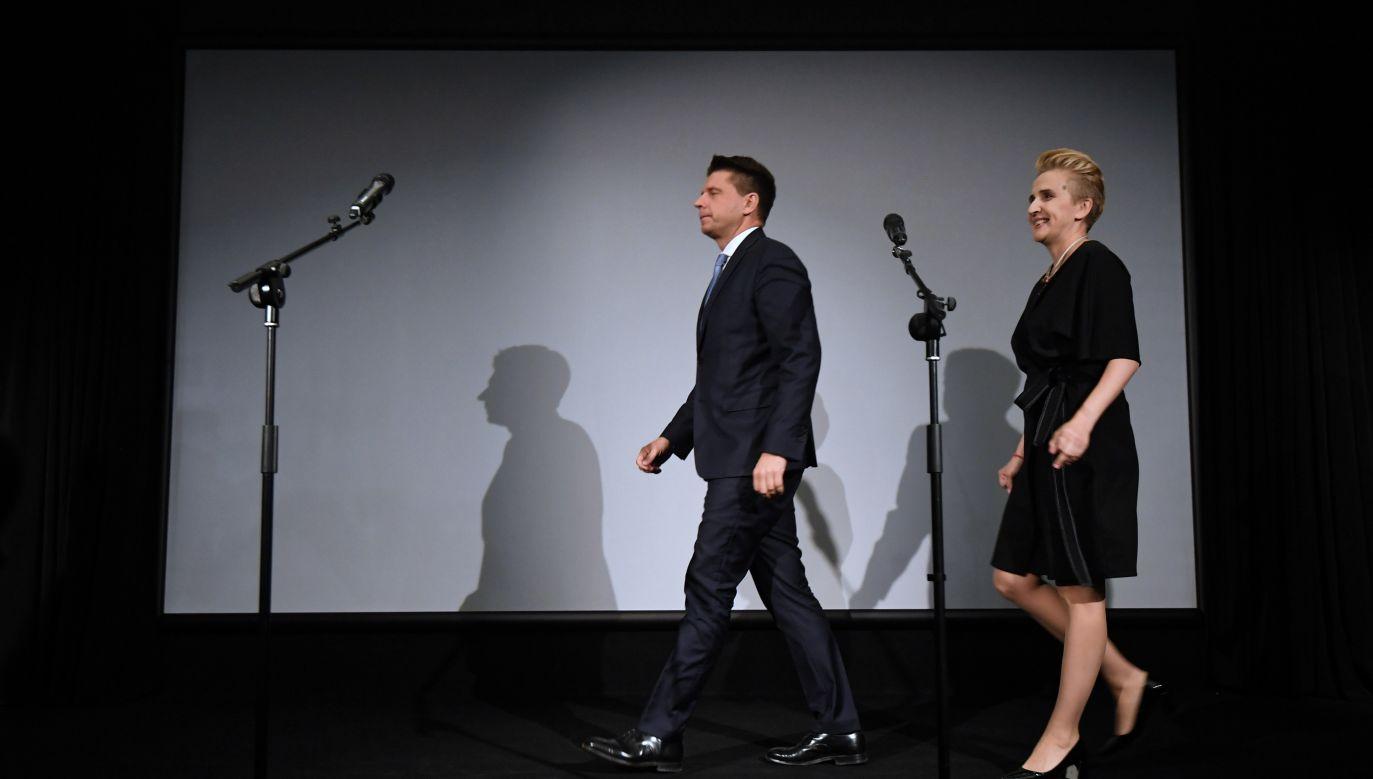 Pierwsza konwencja partii Teraz! (fot. arch. PAP/ Bartłomiej Zborowski)