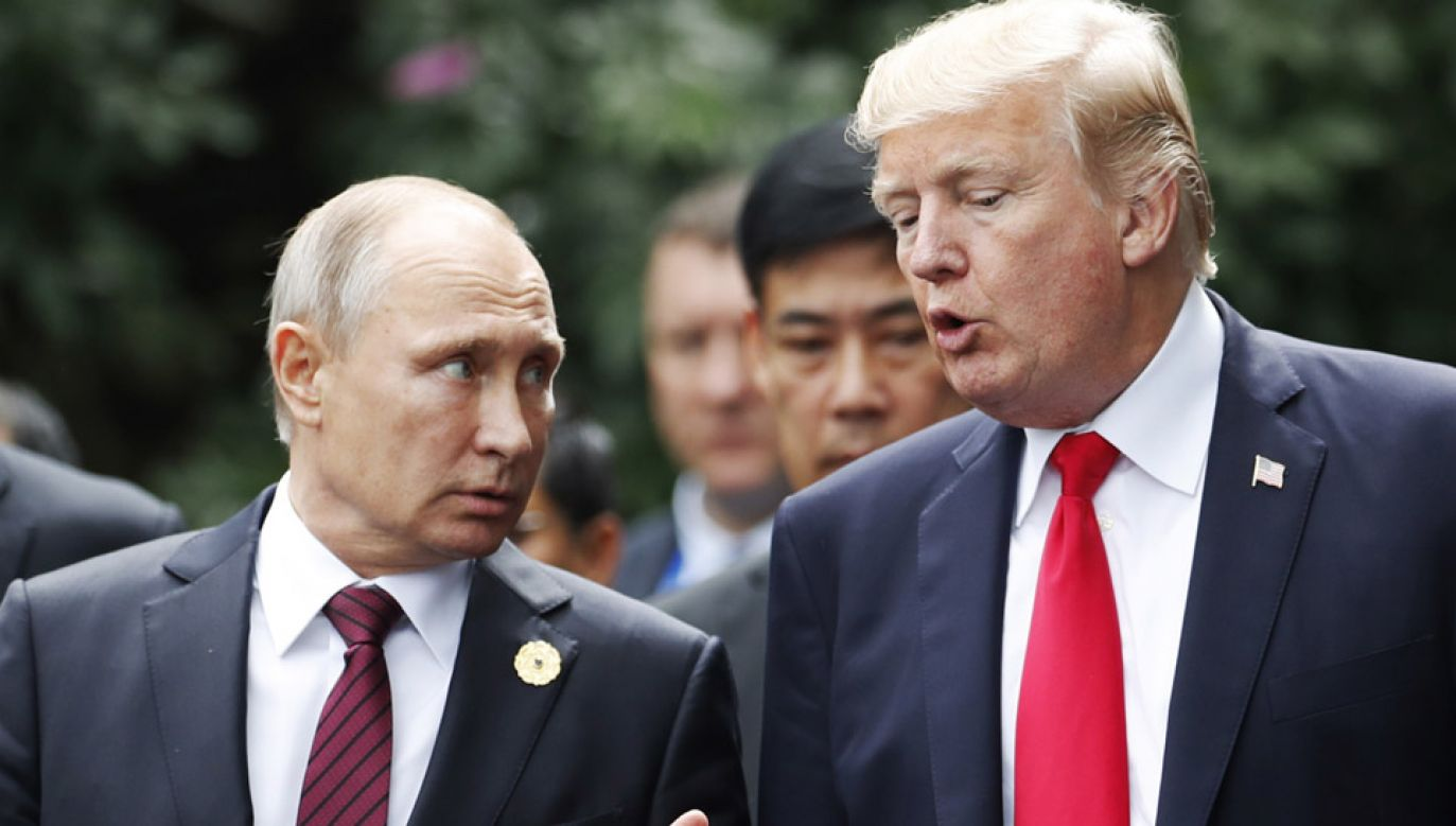 Spotkanie prezydentów USA i Rosji odbędzie się w poniedziałek w Helsinkach (fot. PAP/EPA/JORGE SILVA)
