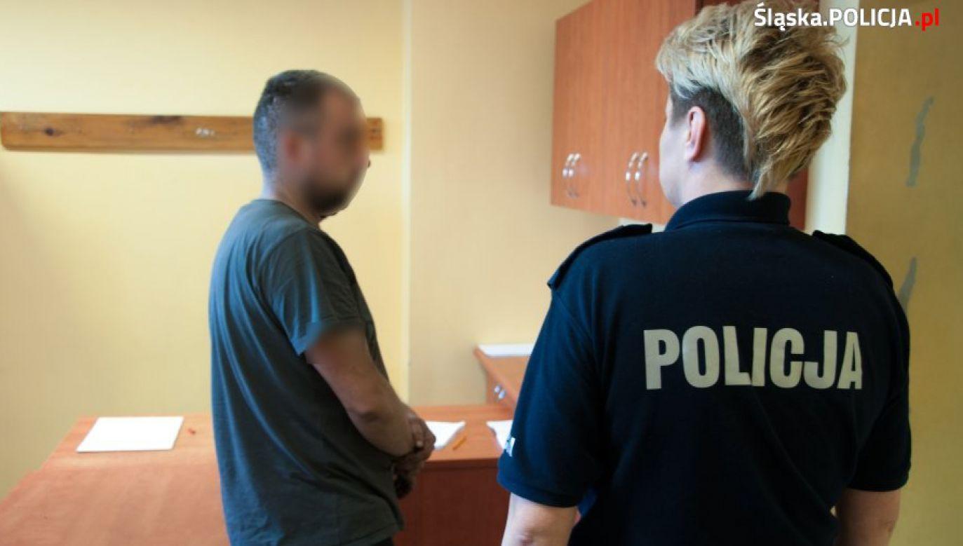 Mężczyźni zostali zatrzymani na terenie Sosnowca (fot. slaska.policja.gov.pl)