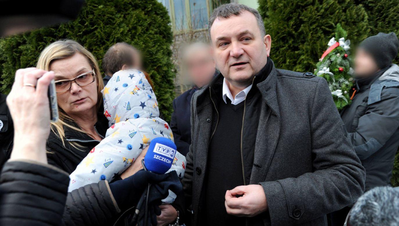 Renata Listowska-Gawłowska i Stanisław Gawłowski (fot. arch.PAP/Marcin Bielecki)