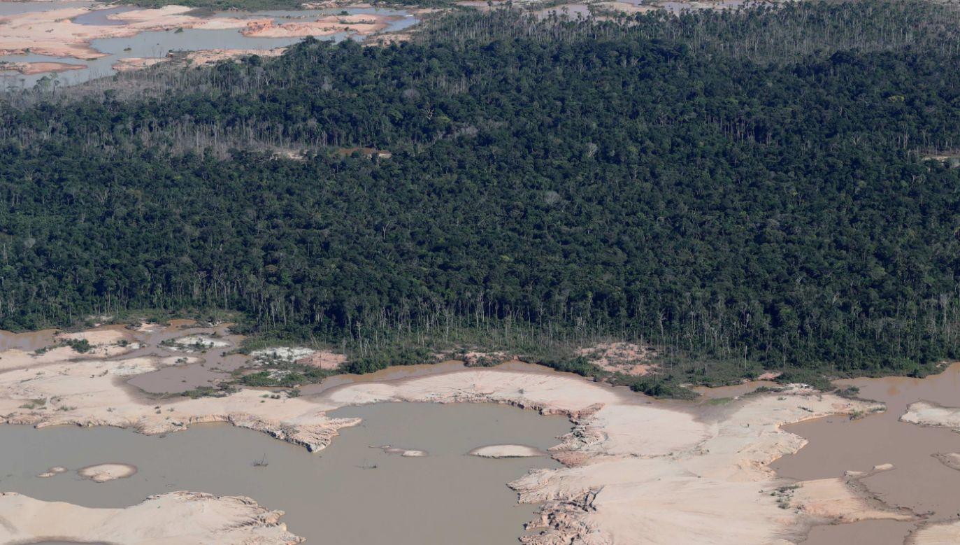 Na razie nie ma informacji na temat ewentualnych ofiar ani zniszczeń (fot. PAP/ EPA/Ernesto Arias)
