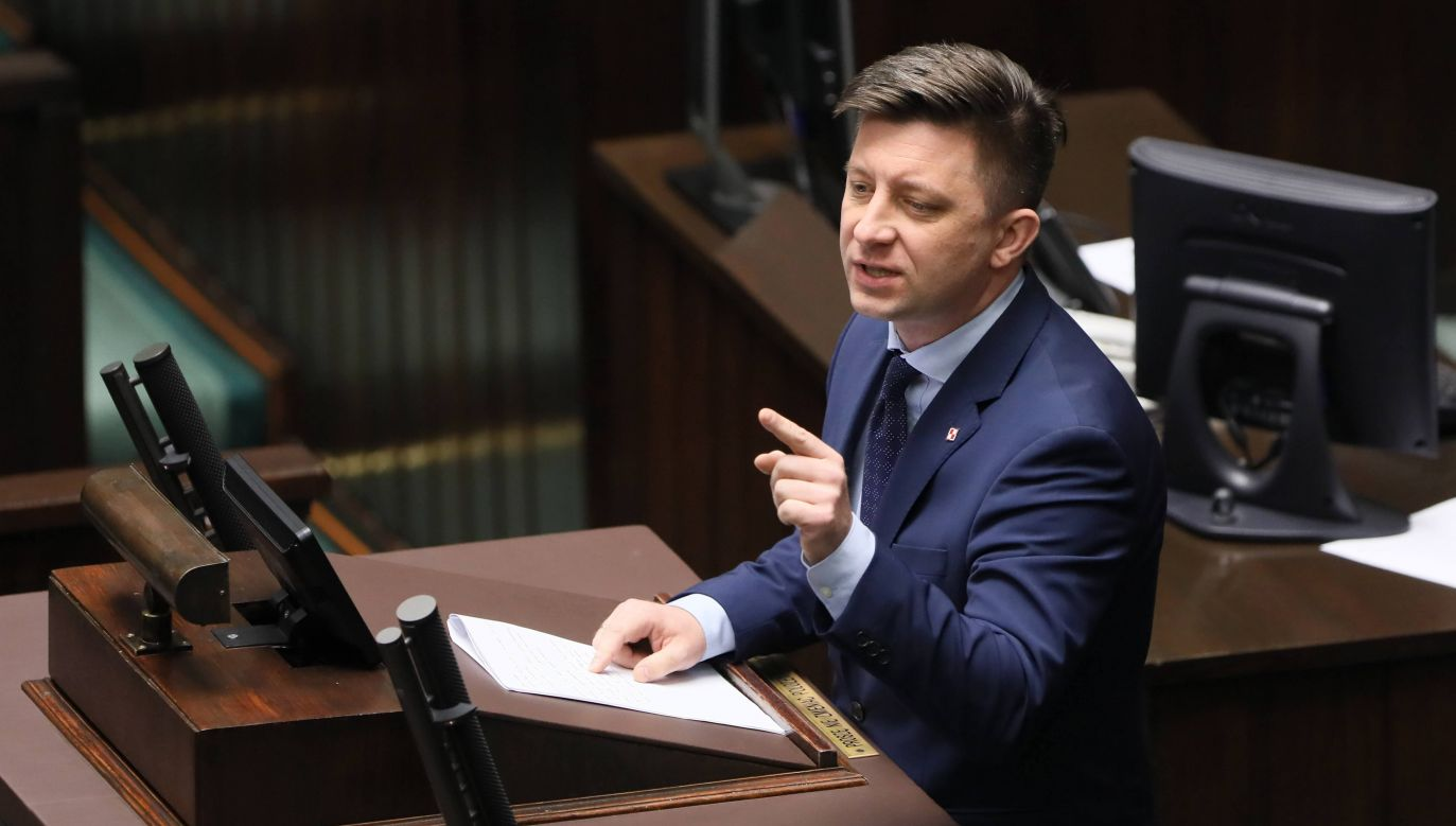 W opublikowanym w nocy komunikacie rzeczniczki rządu czytamy, że intencją premiera nie było negowanie Holokaustu (fot. PAP/Paweł Supernak)