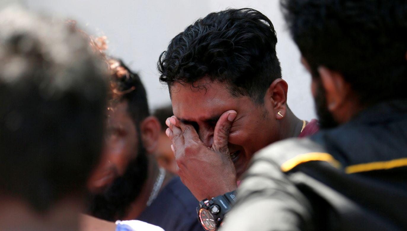 Na razie nie wiadomo, czy są ofiary (fot. REUTERS/Dinuka Liyanawatte)