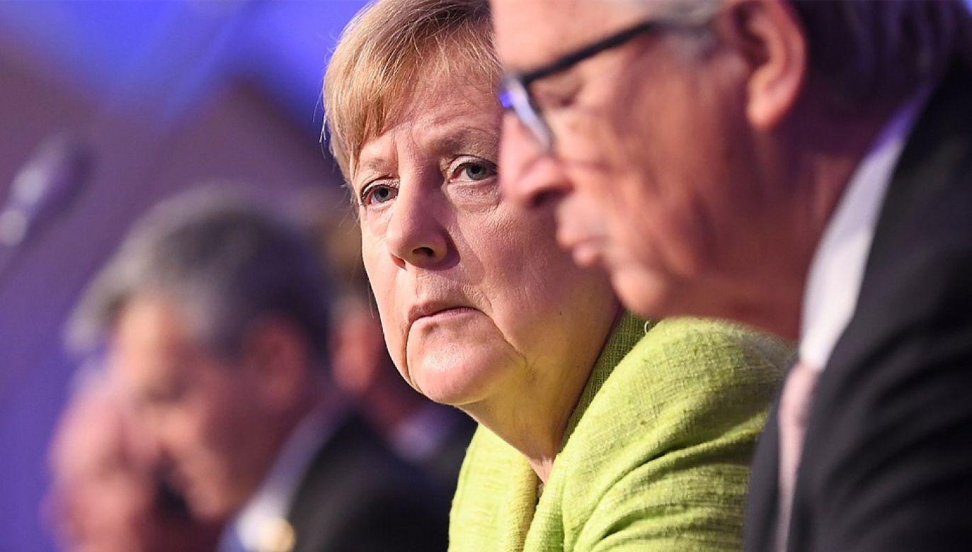 Angela Merkel cieszy się zaufaniem Jean-Claude'a Junckera (fot. Wiki/EPP)