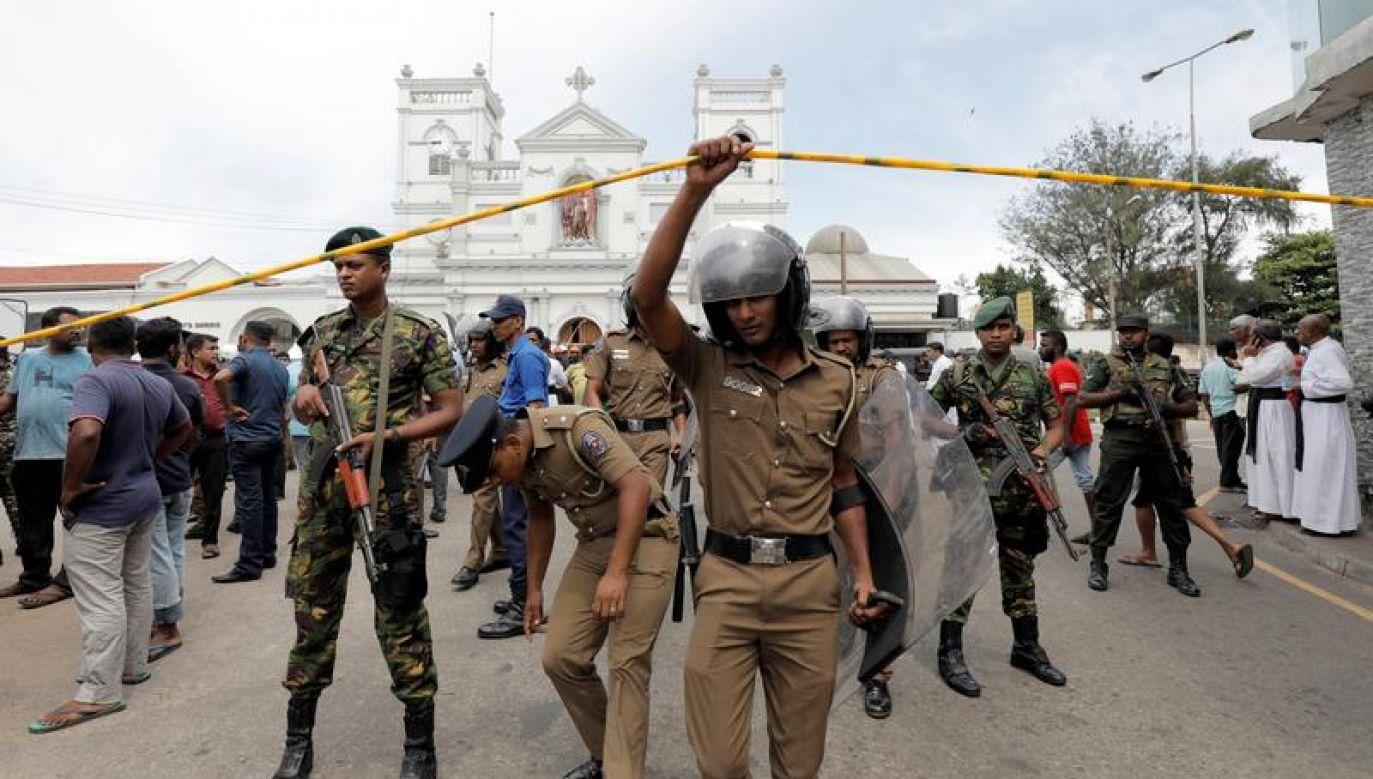 Nie wiadomo kto odpowiada za ataki (fot. REUTERS/Dinuka Liyanawatte)