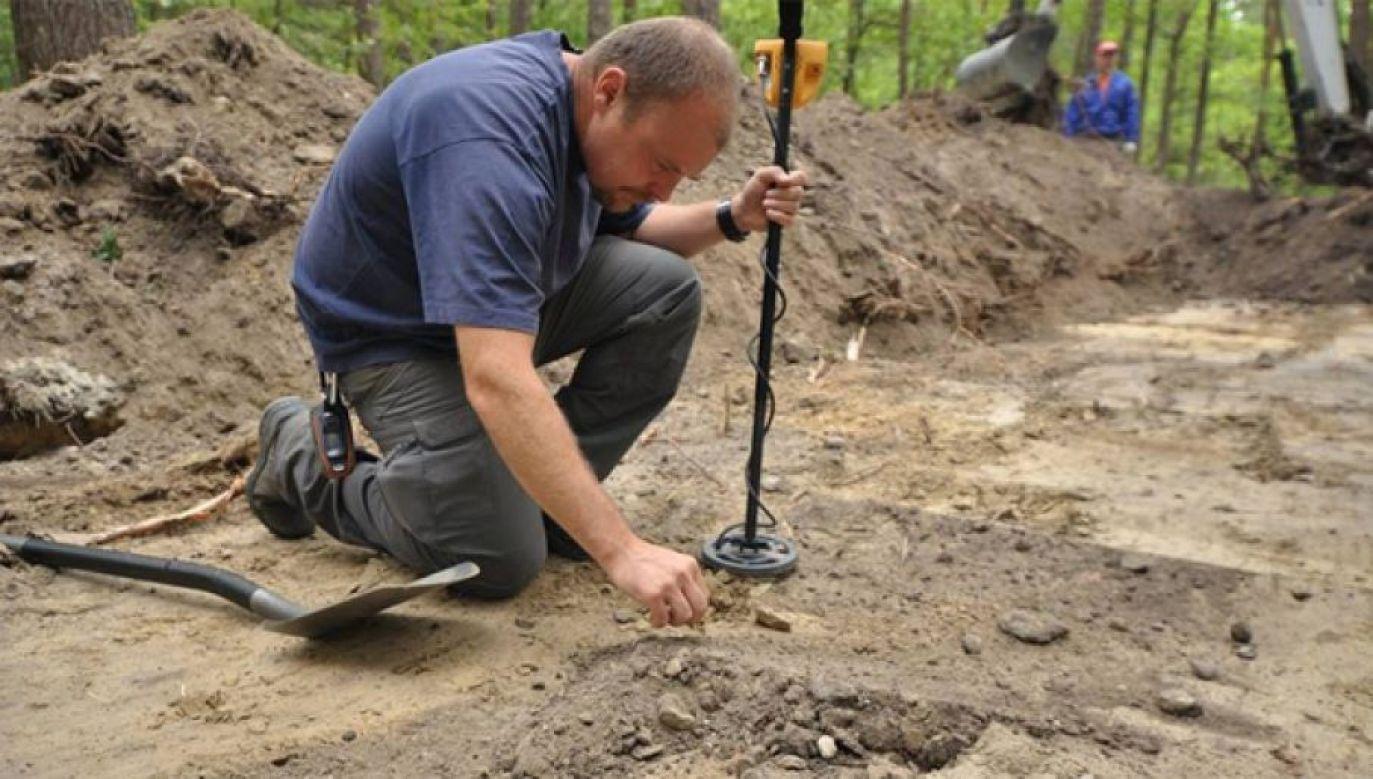 Prace archeologiczno-ekshumacyjne przeprowadzono w różnych miejscach Polski (fot. IPN)