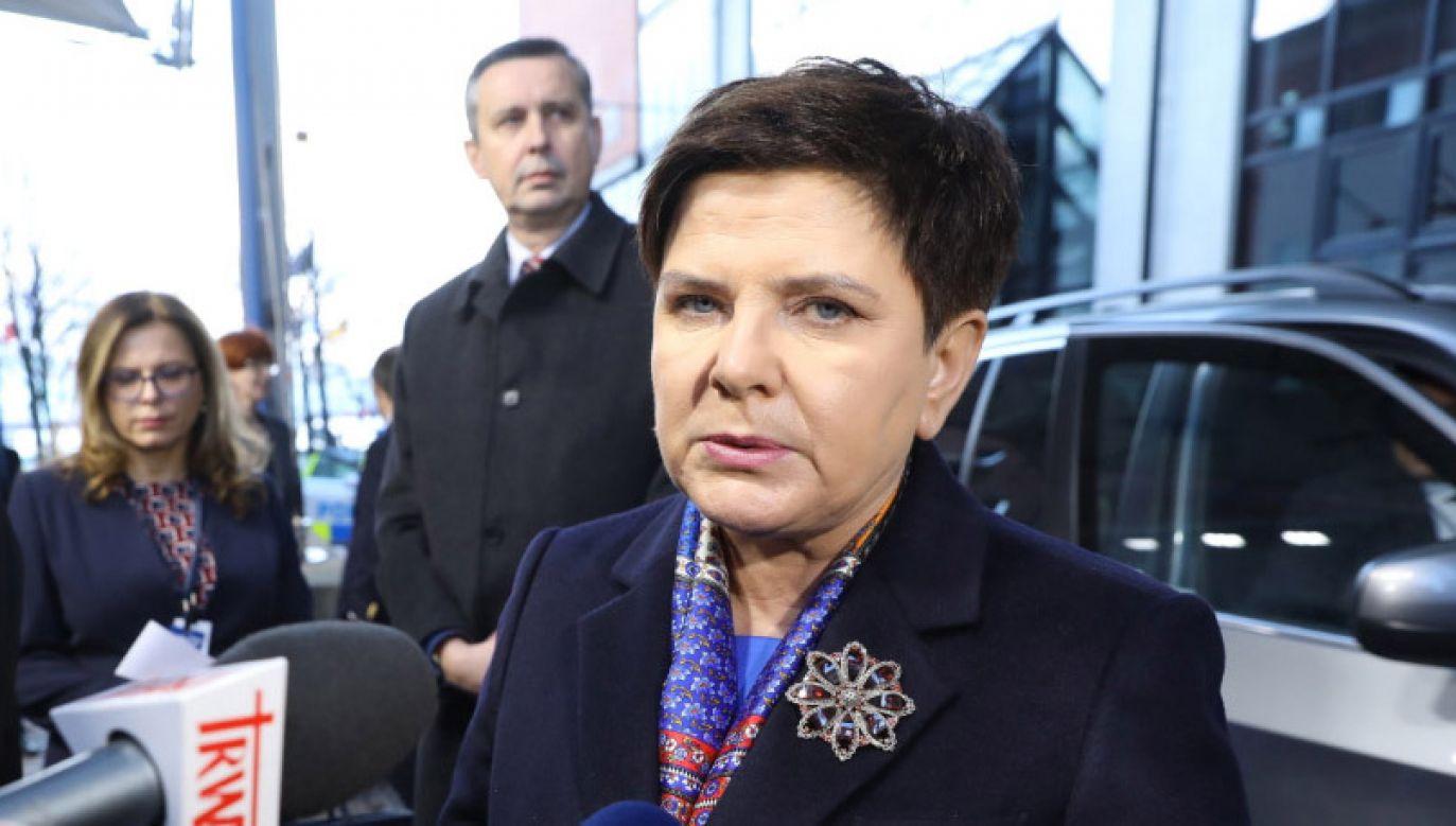 Premier Beata Szydło bierze udział w Europejskiego Szczytu Społecznego w Göteborgu (fot. PAP/Rafał Guz)