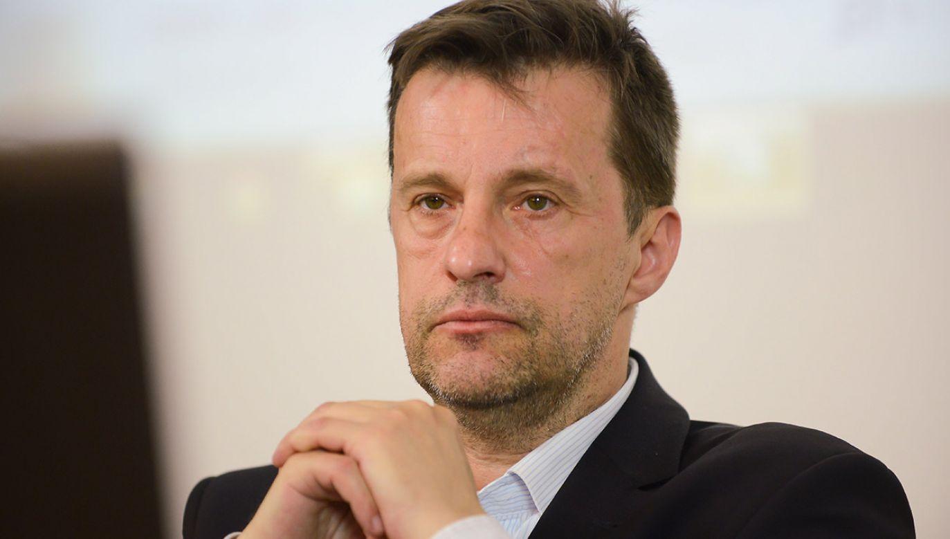 Dziennikarz Witold Gadowski (fot. arch.PAP/Jakub Kamiński)