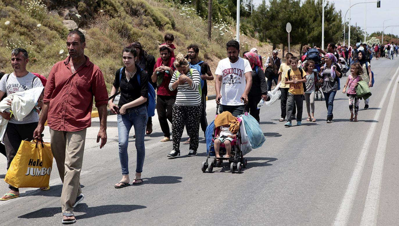 Organizacja zdecydowanie zaprzecza, jakoby przemycała migrantów (fot. REUTERS/Elias Marcou)