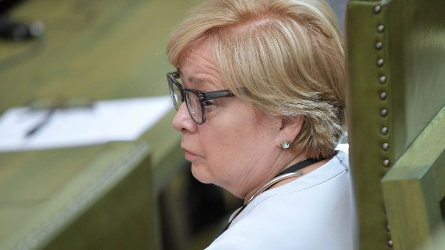 Prof. Małgorzata Gersdorf (fot. arch. PAP/Marcin Obara)