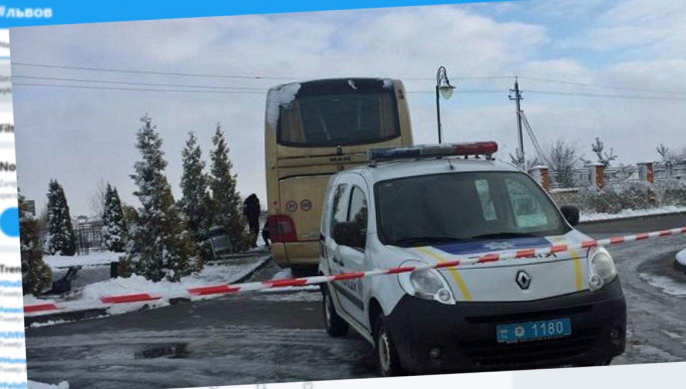 O zdarzeniu informują lwowskie portale (fot. twitter.com/hashtag/львов)