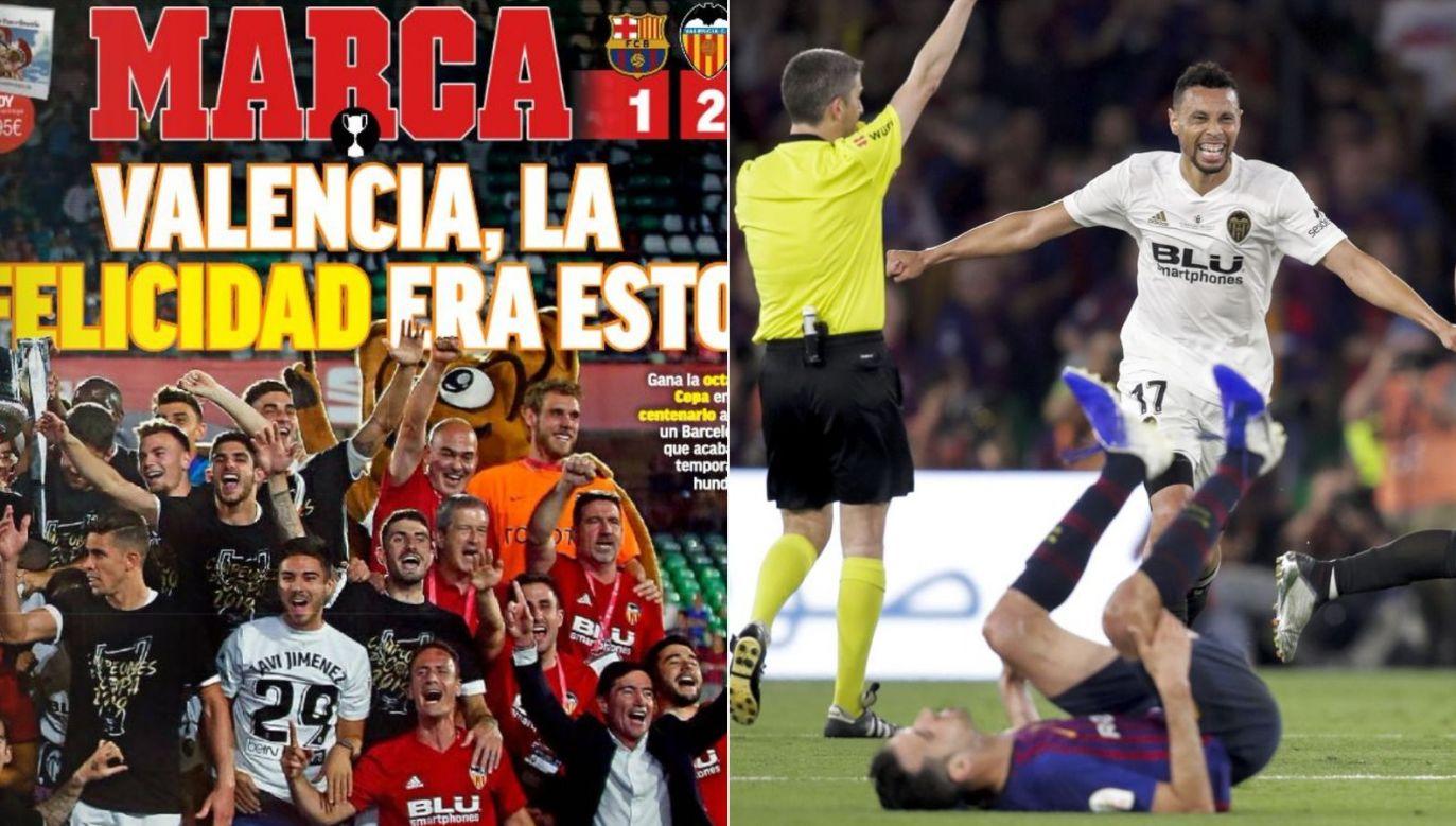 Radość Valencii, rozpacz Barcelony (fot. Marca/Getty)