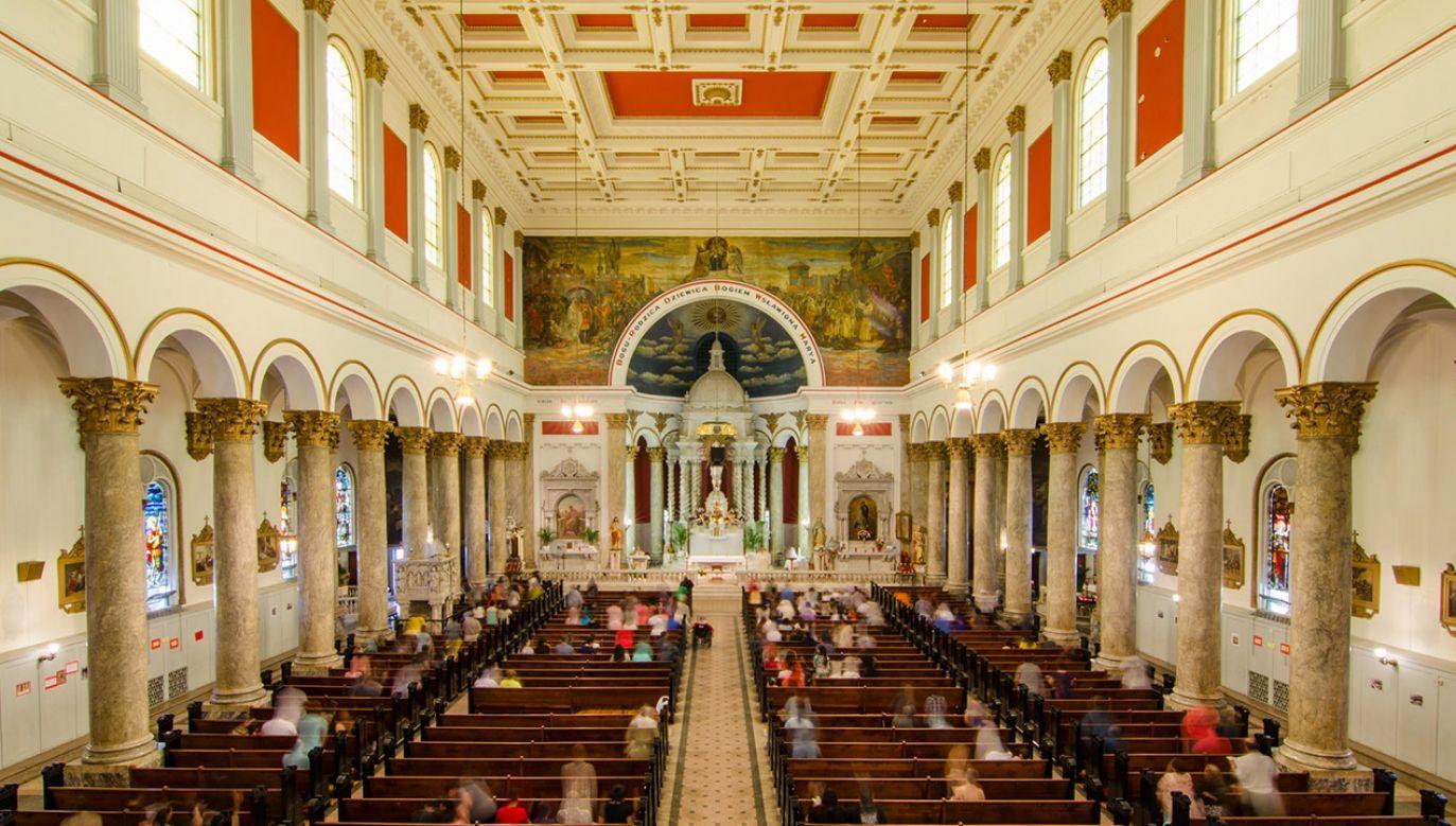 Polski kościół św. Wojciecha to perła chicagowskiej architektury (fot. Eric Allix Rogers/Chicago Architecture Foundation)