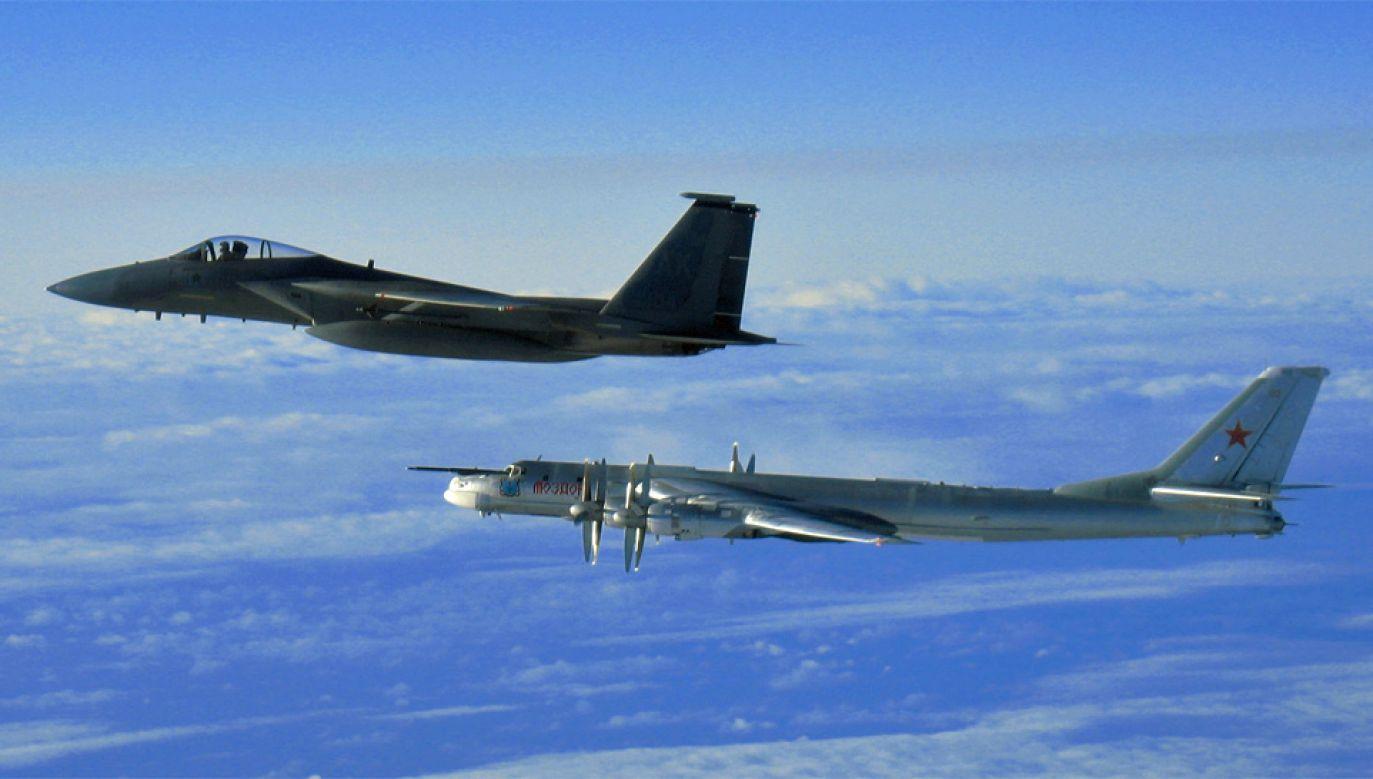 Rosyjskie samoloty regularnie naruszają przestrzeń powietrzną NATO (fot. AF)