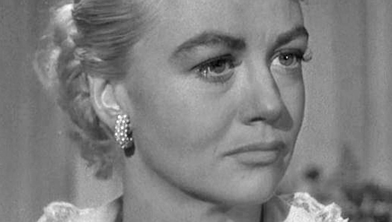 "Dorothy Malone w filmie ""Written on the Wind"" (fot. Wikimedia Commons)"