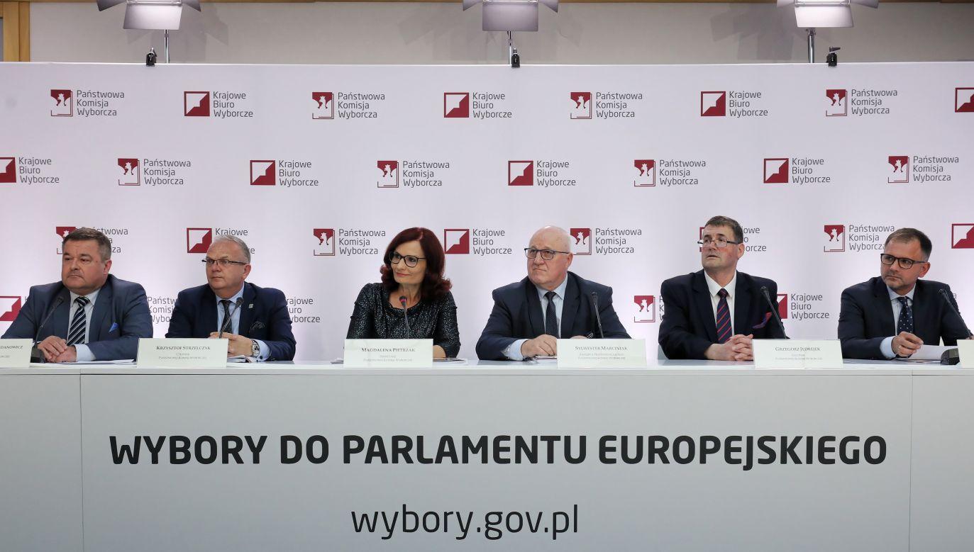 Do godziny 17 zagłosowało  32,51 proc. uprawnionych – podała Państwowa Komisja Wyborcza (fot. PAP/Paweł Supernak)
