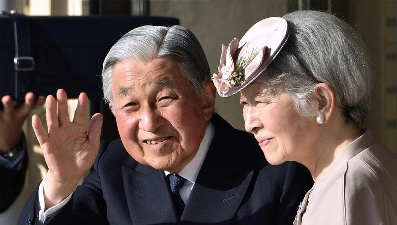 Cesarz Japonii pozbawiony jest obecnie jakiejkolwiek władzy politycznej (fot.  Kazuhiro Nogi/Pool via REUTERS)