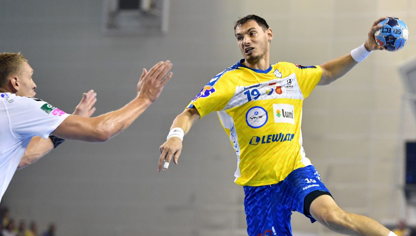 On Sunday, Vive earned their fourth victory in a row in the handball Champions' League. Photo: PAP/Piotr Polak