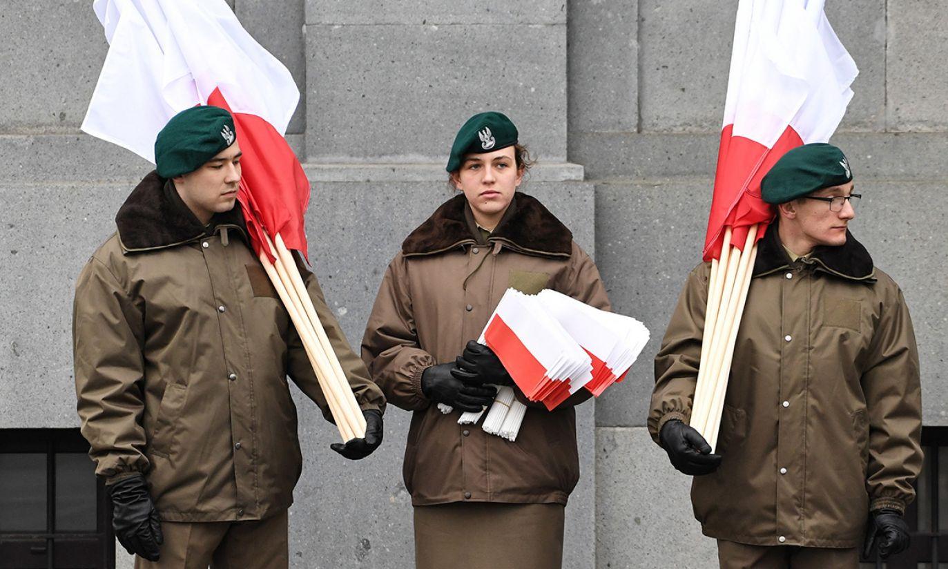 """Żołnierze przygotowują się do Biało-Czerwonego Marszu """"Dla Ciebie Polsko"""