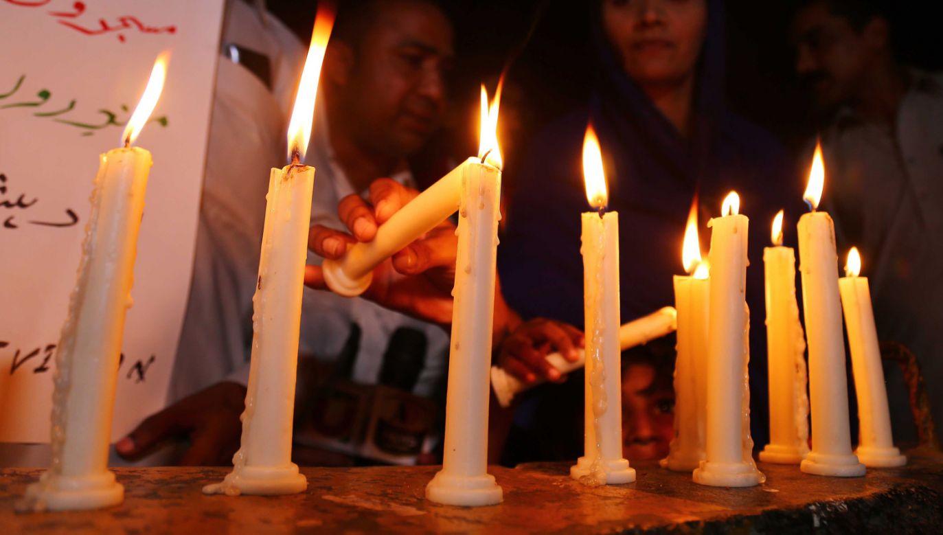Do 290 wzrósł bilans ofiar ataków na kościoły i hotele na Sri Lance (fot. PAP/EPA/SHAHZAIB AKBER)