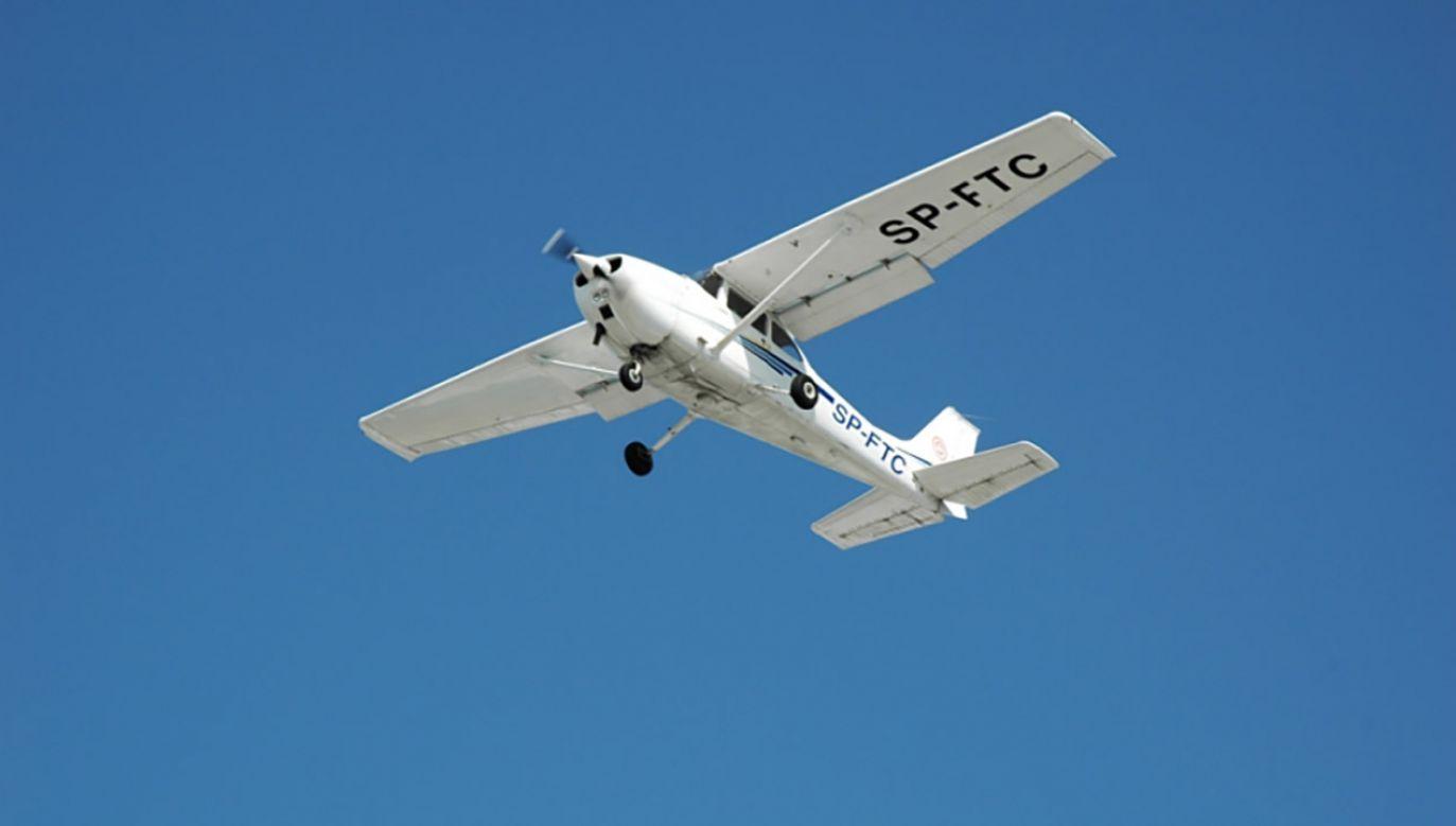 W awionetce oprócz pilota był małoletni pasażer (fot. zdjęcie ilustracyjne Flickr/advocatus_diaboli1)