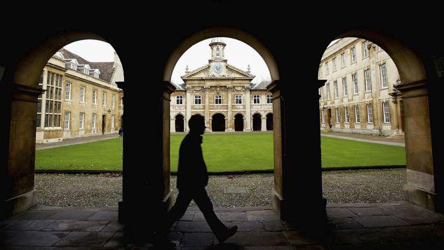 Cambridge to jeden z najsłynniejszych uniwersytetów w Wielkiej Brytanii i na świecie (fot.  Graeme Robertson/Getty Images)