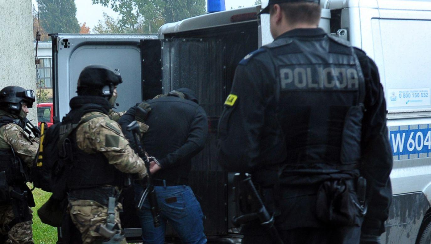 G. to wyjątkowo brutalny gangster (fot. arch.PAP/ Marcin Bielecki)