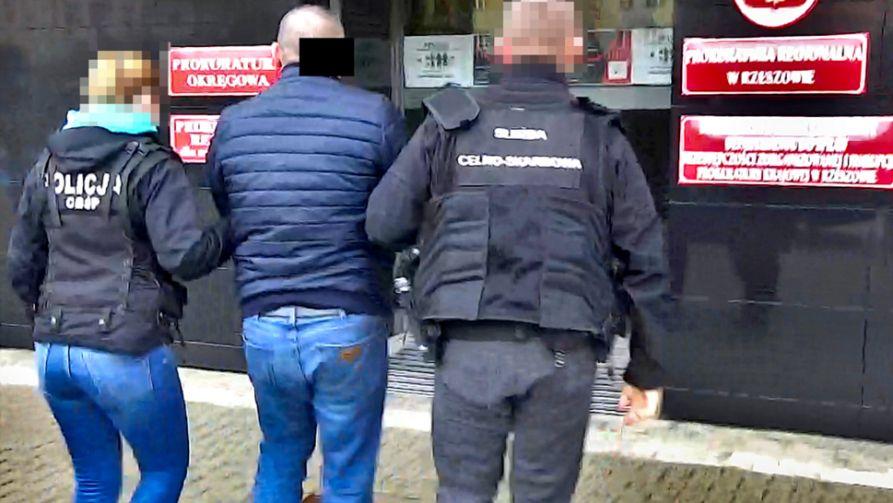 Łącznie zatrzymano 30 podejrzanych (fot. CBŚP)