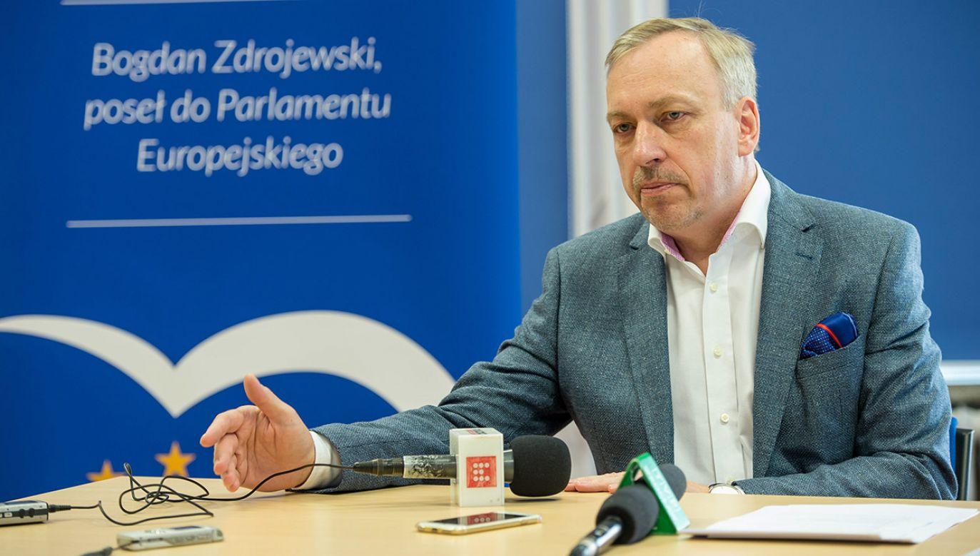 Bogdan Zdrojewski (fot. arch.PAP/Maciej Kulczyński)