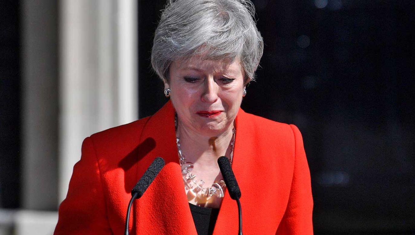 May pozostanie na urzędzie premiera do czasu zakończenia procesu wyboru nowego lidera Partii Konserwatywnej (fot. PAP/EPA/NEIL HALL)