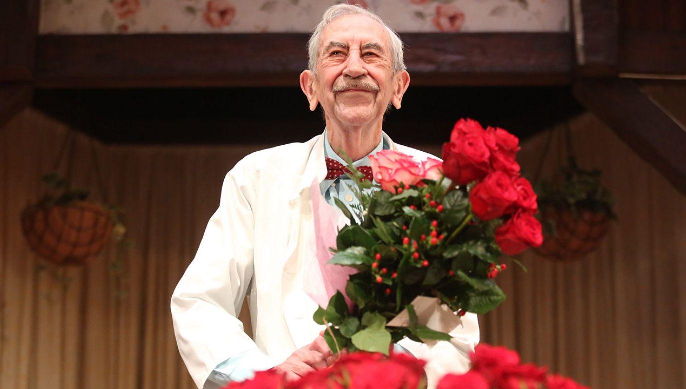 Aktor Jan Kobuszewski świętuje 85. urodziny (fot. arch.PAP/Leszek Szymański)