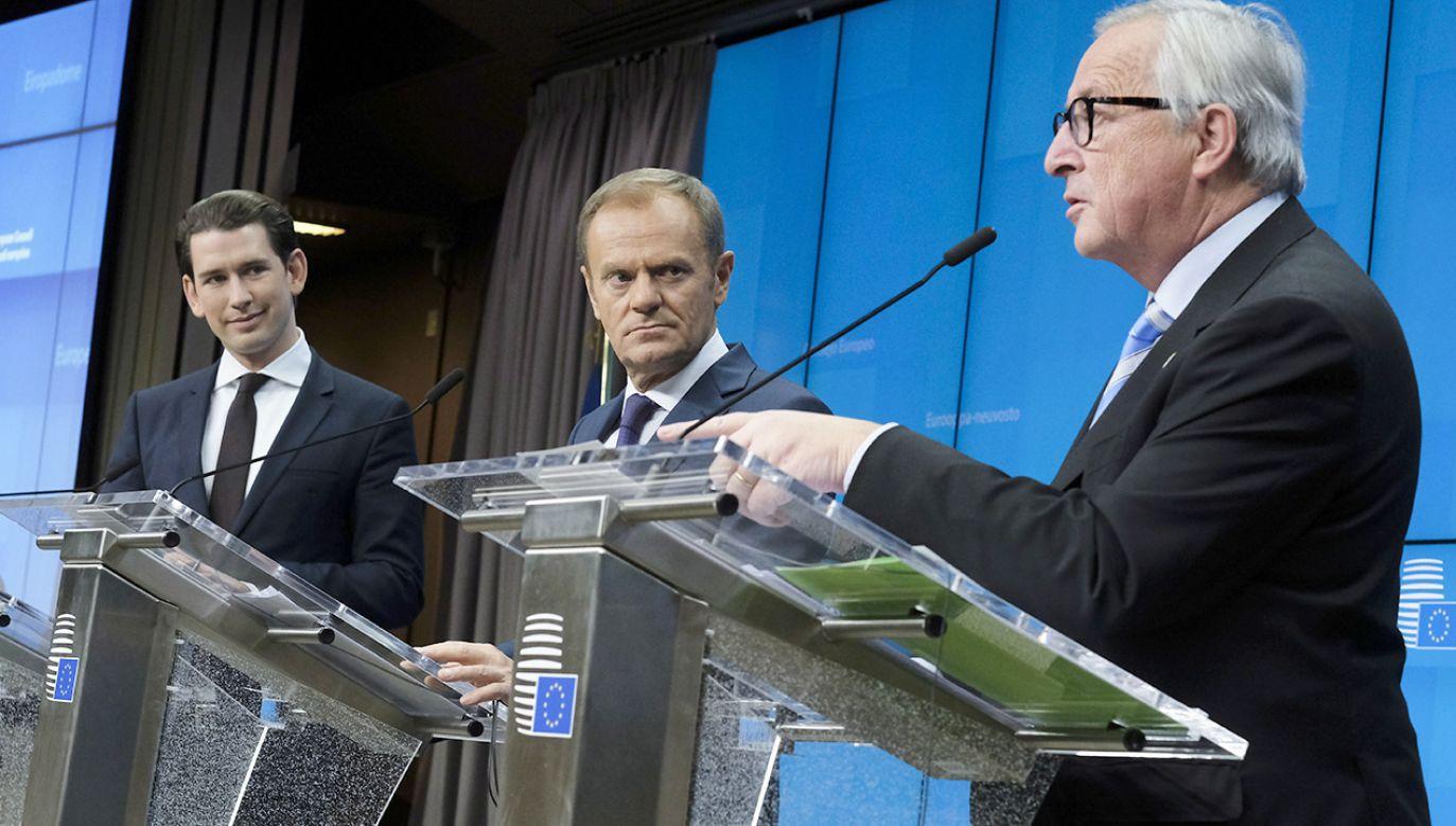Budżet strefy euro ma być częścią przyszłego budżetu UE na lata 2021-2027 (fot. PAP/EPA/OLIVIER HOSLET )