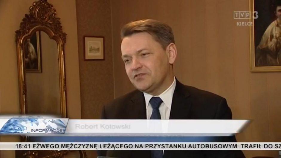 Robert Kotowski, dyrektor Muzeum Narodowego w Kielcach, laureat nagrody Miasta Kielce