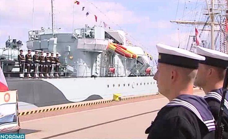 Obchody Święta Wojska Polskiego u marynarzy