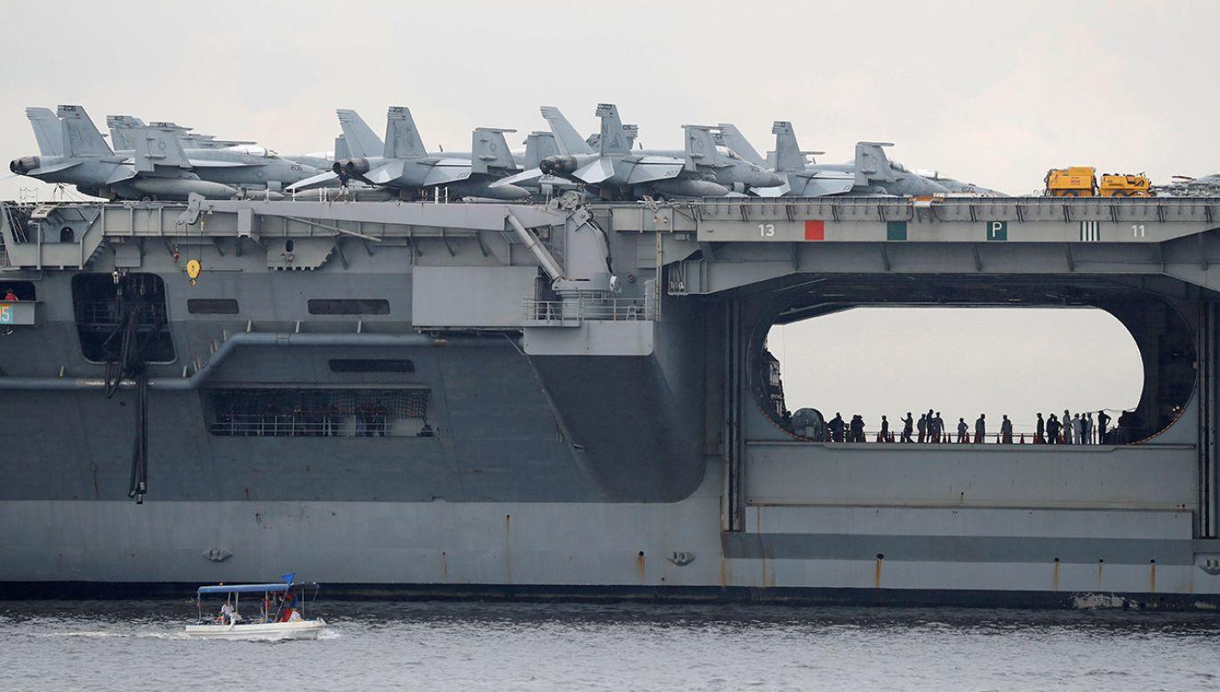 W wypadku rannych zostało kilku marynarzy (fot. REUTERS/Erik De Castro)
