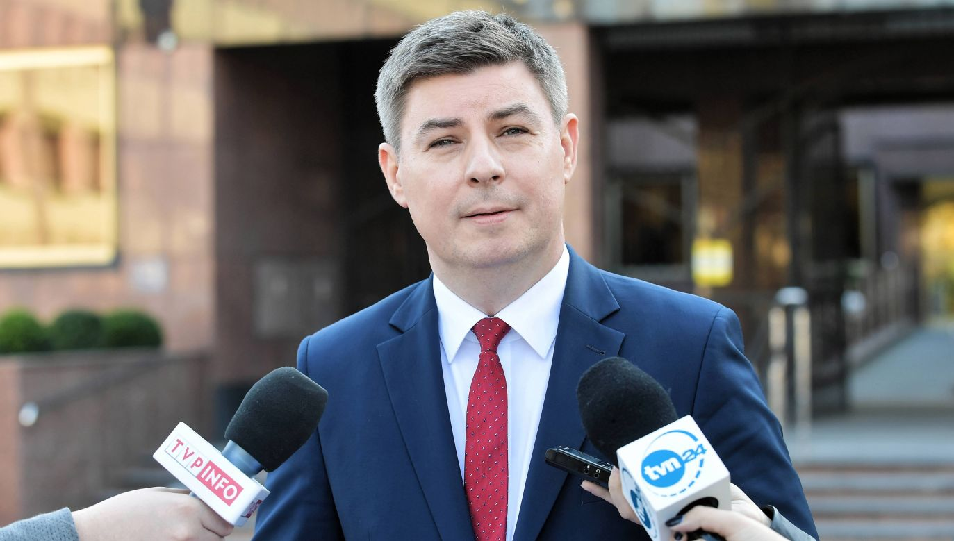 Rzecznik PO Jan Grabiec (fot. arch. PAP/Marcin Obara)