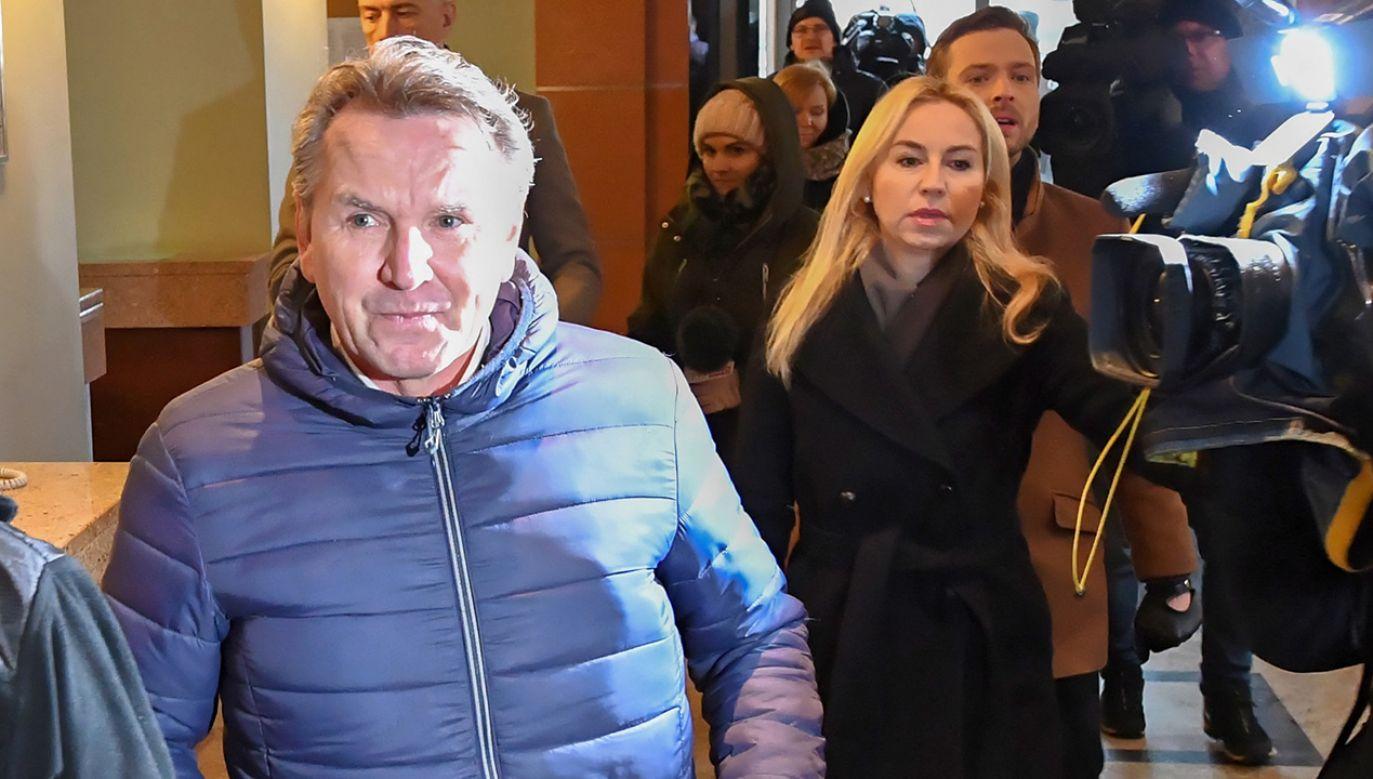 Gerald Birgfellner nie stawił się na przesłuchania (fot. PAP/Piotr Nowak)