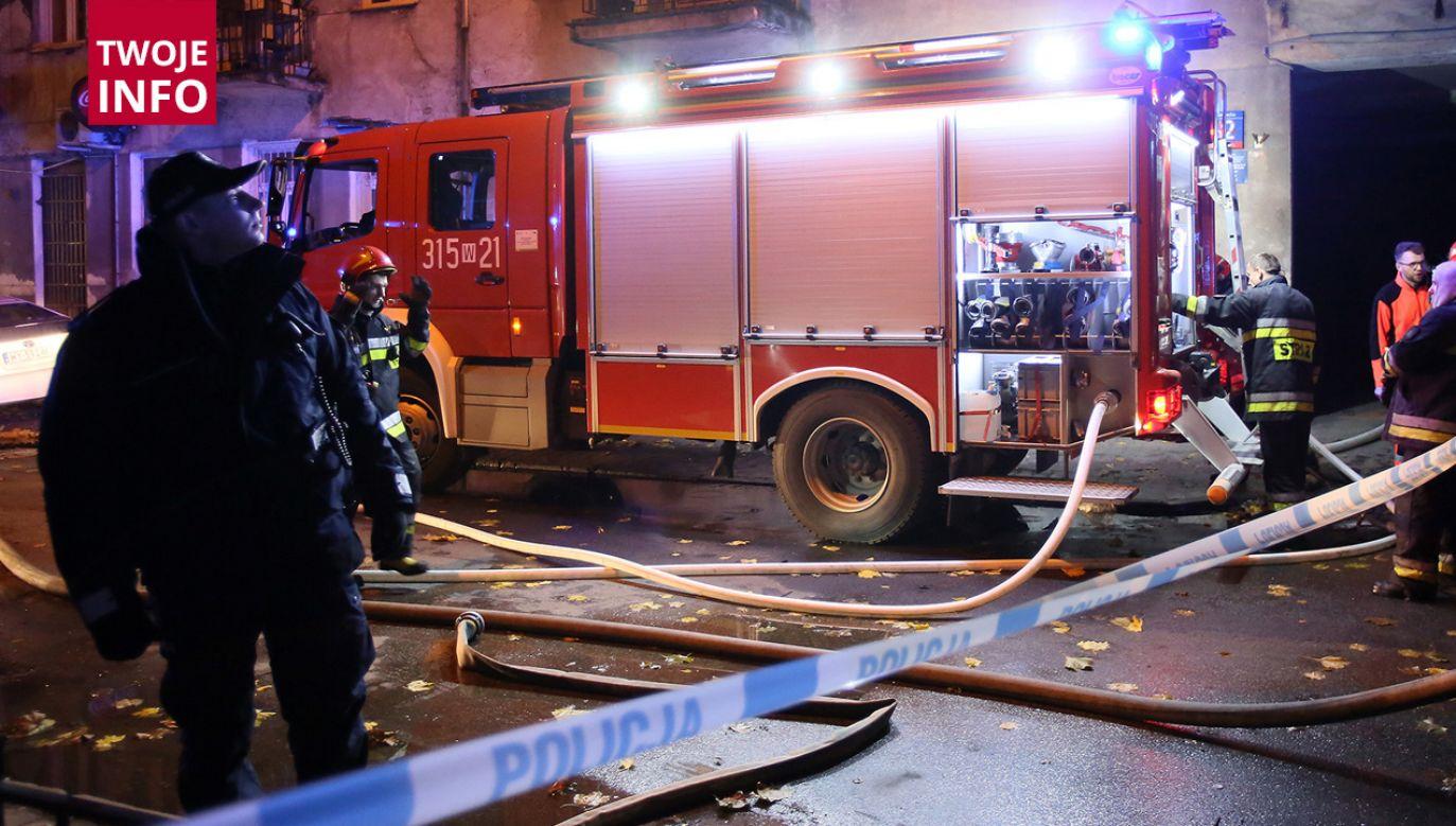 Wybuch gazu w domu jednorodzinnym (fot. PAP/Leszek Szymański)