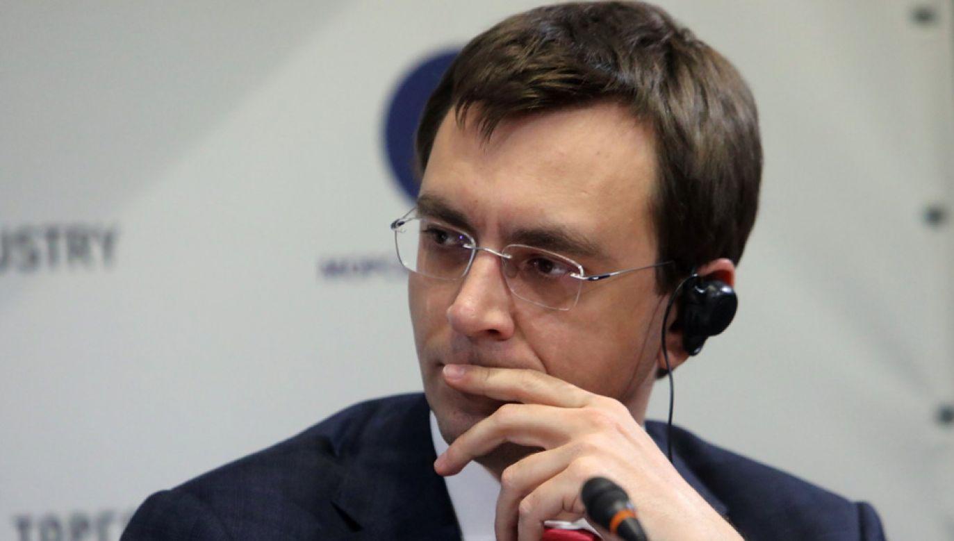 Wołodymyr Omelan zapewnia, że jest niewinny (fot. FB/Светлана Кульбида)