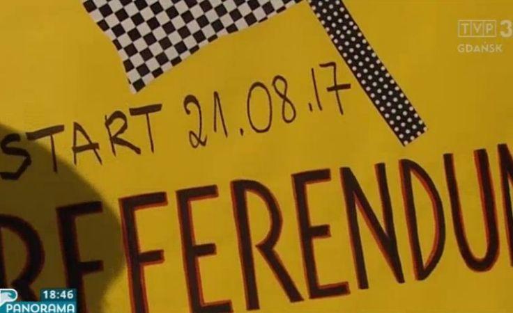 Zbieranie podpisów pod referendum w sprawie odwołania Jacka Karnowskiego