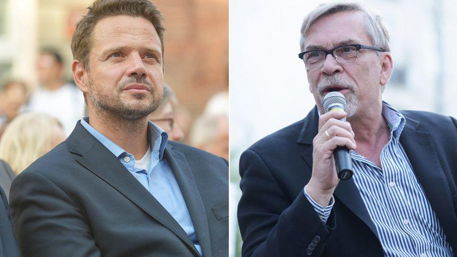 Rafał Trzaskowski i Jacek Żakowski zgodnie krytykują Patryka Jakiego (fot. PAP/Marcin Obara/arch.PAP/Stach Leszczyński)