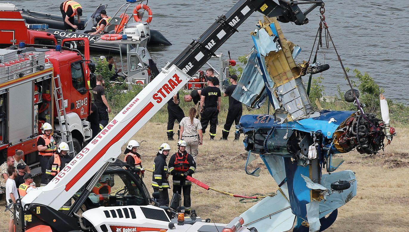Do wypadku doszło podczas wykonywania przez pilota ewolucji (fot. PAP/Piotr Augustyniak)