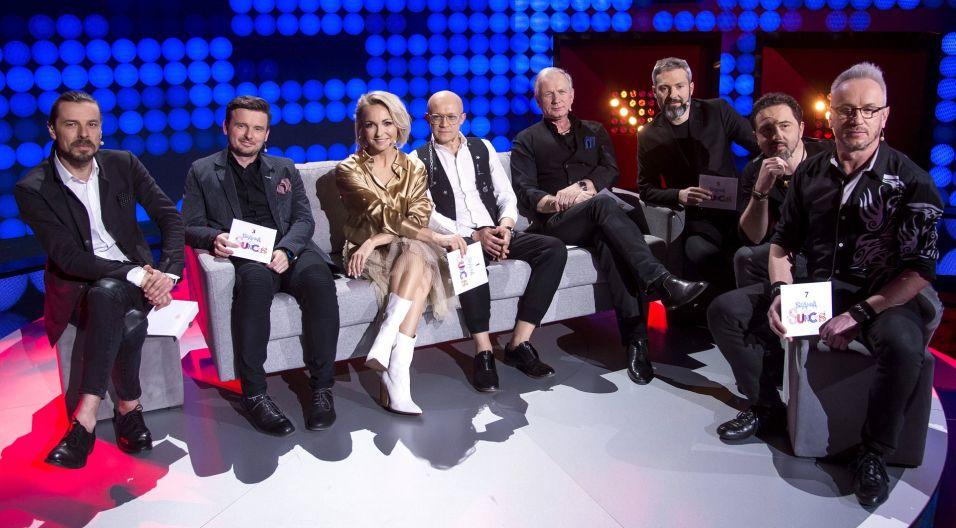 Gwiazdą pierwszego odcinka programu była Anna Wyszkoni z zespołem (fot. J. Bogacz/TVP)