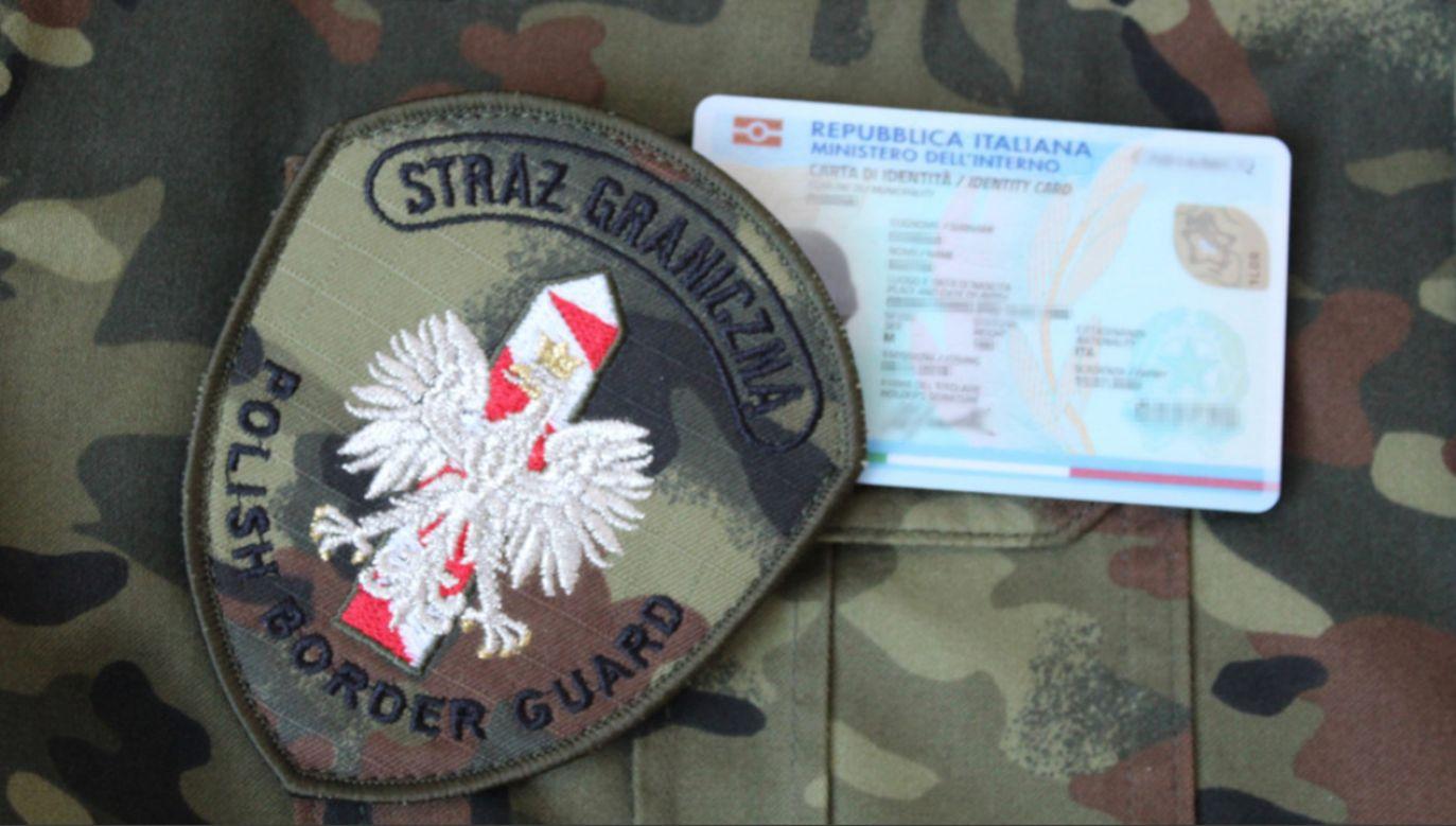 SG wszczęła także postępowanie administracyjne w sprawie deportacji mężczyzny (fot. strazgraniczna.pl)