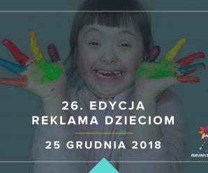Reklama dzieciom 2018
