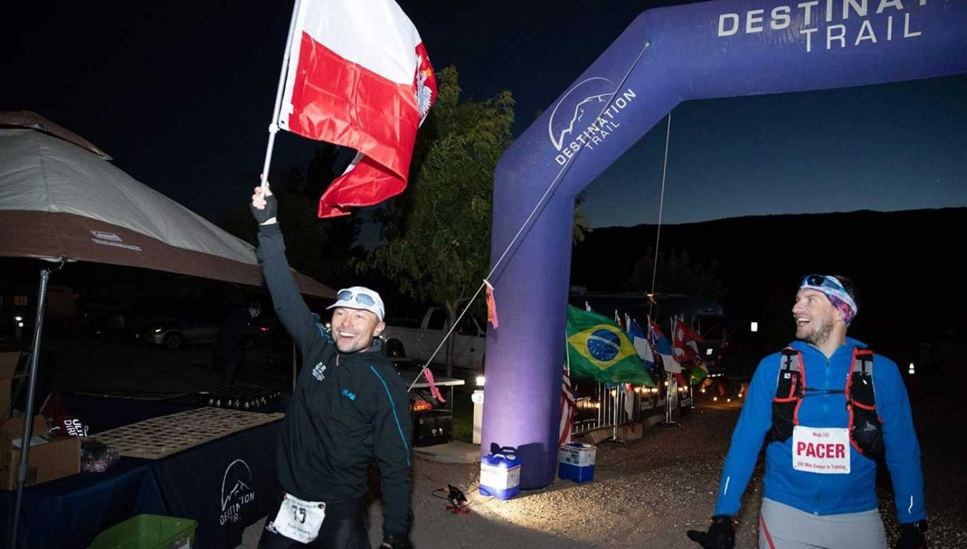 Piotr Hercog pokonał Moab Endurance Run  w 60 godzin, 14 minut i 47 sekund (fot. Embassy of Poland US/RokisPhoto)