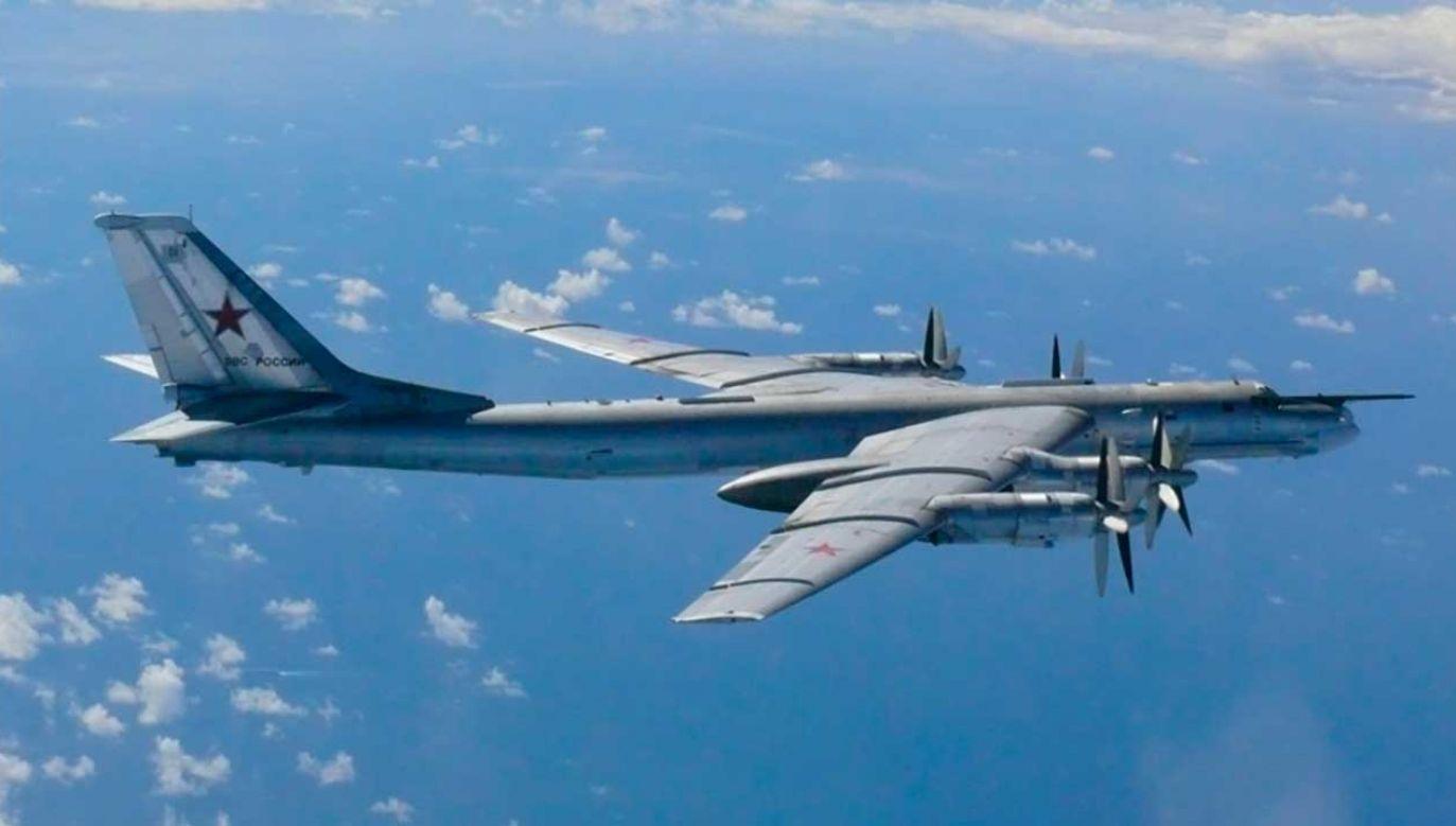 Rosyjskie ministerstwo podkreśliło, że lot odbywał się zgodnie z przepisami międzynarodowymi (fot. REUTERS/Defense Ministry of Japan)