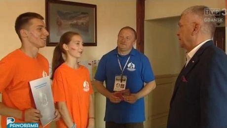 Dzieci z Białorusi na wakacjach nad Bałtykiem