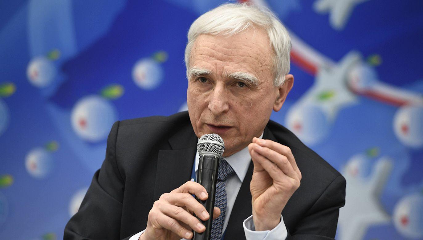 poinformował w środę pełnomocnik rządu ds. strategicznej infrastruktury energetycznej Piotr Naimski (fot. arch.PAP/Darek Delmanowicz)