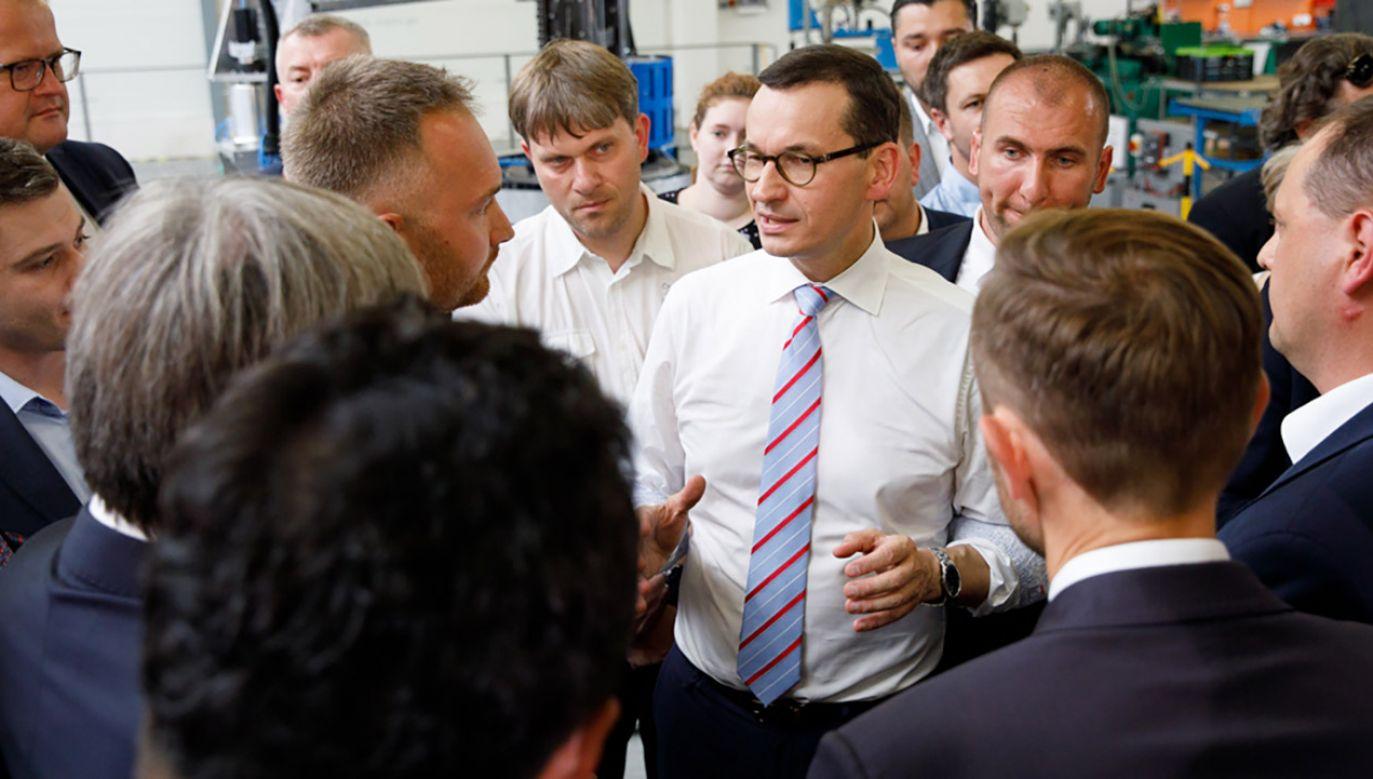 Z rozporządzenia premiera Morawieckiego wynika, że pierwsza tura wyborów samorządowych odbędzie się 21 października (fot. Krystian Maj / KPRM)